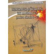 Memorator si indrumar de matematica pentru (Clasele I-IV) imagine librariadelfin.ro