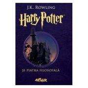 Harry Potter si piatra filosofala 1 - J. K. Rowling imagine librariadelfin.ro