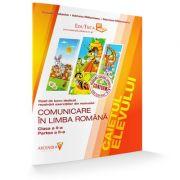 Comunicare in Limba Romana. Clasa a II-a. Caietul elevului pentru semestrul II (Contine rezolvarea exercitilor din manual) - Claudia Matache