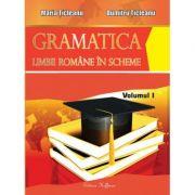 Gramatica limbii romane in scheme, volumul I - PARTEA DE TEORIE ( Maria Ticleanu ) Ed. a X-a imagine librariadelfin.ro