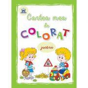 Cartea mea de colorat Jucarii imagine libraria delfin 2021