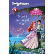 Invat sa citesc, Nivelul 1 - Nunta in largul marii (Disney Printese)