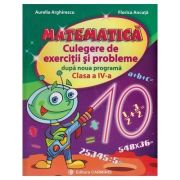 MATEMATICA. Culegere de exercitii si probleme dupa noua programa, clasa a IV-a - Aurelia Arghirescu imagine librariadelfin.ro