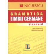 Gramatica limbii germane: standard (Gerhard Helbig)