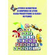 Literele alfabetului si grupurile de litere - clasa pregatitoare si clasa I imagine librariadelfin.ro