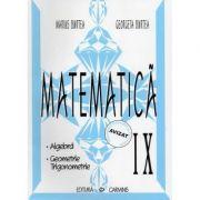 Matematica - clasa a IX-a. Alegbra, Geometrie, Trigonometrie (Georgeta Burtea) imagine librariadelfin.ro