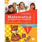 Matematica si explorarea mediului. Clasa I sem 1 (Exercitii, probleme si jocuri) imagine librariadelfin.ro