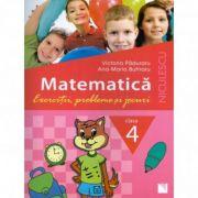 Matematica - Clasa a IV-a. Exercitii, probleme si jocuri imagine librariadelfin.ro