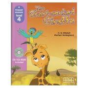 The short-necked Giraffe (Primary Reader Level 4 + CD) - H. Q. Mitchell, Marileni Malkogianni imagine librariadelfin.ro