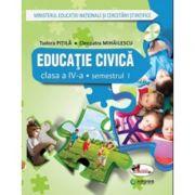 Educatie civica. Manual pentru clasa a IV-a, semestrul I si semestrul II. Contine CD - Tudora Pitila, Cleopatra Mihailescu imagine librariadelfin.ro