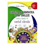 Exercitii de gramatica limbii engleze. Caiet pentru clasele I-IV - Cristina Johnson imagine librariadelfin.ro
