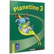 Planetino 3. Arbeitsbuch Colectia ( Deutsch Fur Kinder )