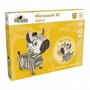 Zebra. Mini Puzzle 3D imagine librariadelfin.ro