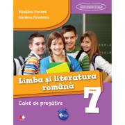 Limba si literatura romana. Caiet de pregatire pentru Clasa a VII-a ( Madalina Vincene ) imagine librariadelfin.ro