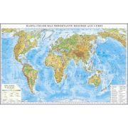 Harta celor mai importante resurse ale lumii 3500x2400 mm (GHRL1G) imagine librariadelfin.ro