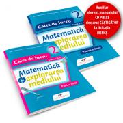 Matematica si explorarea mediului. SET caiete de lucru. Clasa a II-a - Iliana Dumitrescu, Nicoleta Ciobanu, Alina Carmen Birta imagine librariadelfin.ro