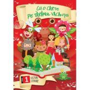 Cu o carte pe taramul vacantei - citeste si coloreaza, pentru clasa I imagine librariadelfin.ro
