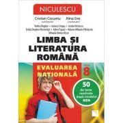 Limba si literatura romana. Evaluarea nationala. 50 de teste rezolvate dupa modelul MEN imagine librariadelfin.ro