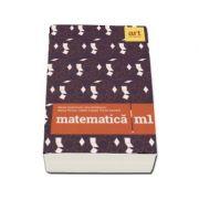 Matematica M1 pentru examenul de Bacalaureat 2018 - 72 de teste (Filiera teoretica, profilul real, specializarea mate-info. Filierea vocationala, prof imagine librariadelfin.ro