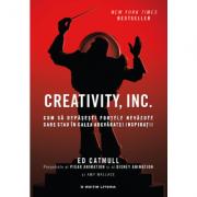 Creativity, Inc - Cum sa depasesti fortele nevazute care stau in calea adevarate inspiratii (Ed Catmull, Amy Wallace)
