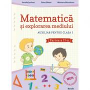 Auxiliar pentru clasa I - Matematica si explorarea mediului - semestrul al II-lea - Aurelia Seulean imagine librariadelfin.ro