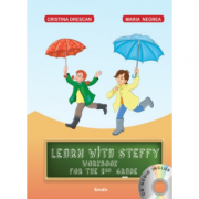 Learn with Steffy cls. a II-a - Cristina Drescan imagine librariadelfin.ro
