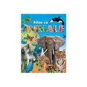 Atlas cu animale imagine librariadelfin.ro