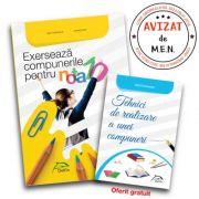 Exerseaza compunerile pentru nota 10! + Tehnici de realizare a unei compuneri imagine librariadelfin.ro