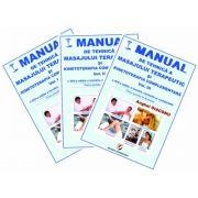 Manual de tehnica a masajului terapeutic si kinetoterapia complementara. Volumele I, II si III (Anghel Diaconu) imagine librariadelfin.ro