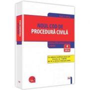 Noul Cod de procedura civila. Legislatie consolidata si INDEX 4 februarie 2016 imagine librariadelfin.ro