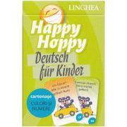 Happy Hoppy. Deutsch fur Kinder. Cartonase - Culori si numere imagine librariadelfin.ro