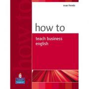 How To Teach Business English - Evan Frendo