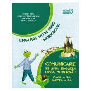 English with Nino. Comunicare in limba engleza. Workbook. Clasa a II-a. Partea a II-a - Bianca Popa, Marina Franculescu imagine librariadelfin.ro