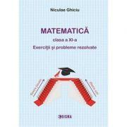 Matematica clasa a XI-a. Exercitii si probleme rezolvate imagine librariadelfin.ro