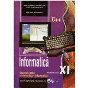 Informatica. Manual pentru clasa a XI-a - Mariana Milosescu imagine librariadelfin.ro