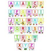 Alfabetul limbii române – Set planșe (KP-019) - 30x40