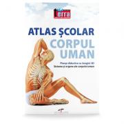 Atlas scolar. Corpul uman imagine librariadelfin.ro