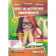 Caiet de activitate independenta, pentru clasa a IV-a - Liliana Ioan imagine librariadelfin.ro