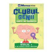 Imagine Clubul Micilor Genii - Carte De Exercitii - Nivelul 1 - Mensa Kids -