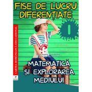 Fise de lucru diferentiate. Matematica si explorarea mediului. Clasa I - Daniela Berechet, Florian Berechet, Lidia Costache, Jeana Tita