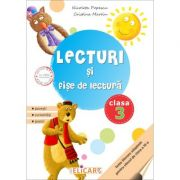 Lecturi si fise de lectura. Clasa a III-a. Suport de lucru pentru orele de lectura - Nicoleta Popescu, Cristina Martin