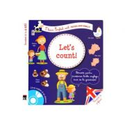 Let's count! + CD - I learn English with Peter and Emily - Larousse imagine librariadelfin.ro