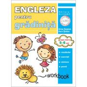 Limba engleza pentru gradinita. Grupa mare 5-6 ani. Workbook - Arina Damian, Aura Stefan imagine librariadelfin.ro