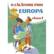 O calatorie prin Europa clasa I 2019-2020 - Viorel George Dumitru imagine librariadelfin.ro