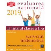 Teste pentru Evaluarea Nationala la finalul clasei a II-a. Scris-Citit. Matematica. 30 de teste dupa modelul M. E. N. - Aurelia Dinu imagine librariadelfin.ro