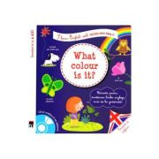 What colour is it? + CD - I learn English with Peter and Emily - Larousse imagine librariadelfin.ro