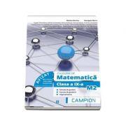 Culegere de matematica pentru clasa a IX-a, profil M2. Functia de gradul I, functia de gradul II, trigonometrie (Semestrul II) - Marius Burtea imagine librariadelfin.ro