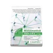 Culegere de matematica pentru clasa a IX-a, profil M2. Multimi si elemente de logica matematica (Semestrul I) - Marius Burtea imagine librariadelfin.ro