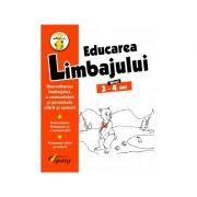 Educarea limbajului, nivel 3-4 ani - Nicoleta Samarescu imagine librariadelfin.ro