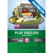 Imagine Curs De Limba Engleza Play English Kids - Caiet Pentru Clasa Pregatitoare